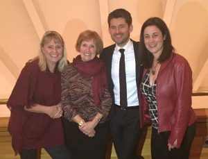 Matt Dusk and Board Members